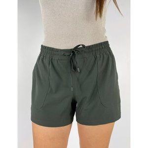 ROCKWEAR Khaki Green Activewear Run Shorts Size 10